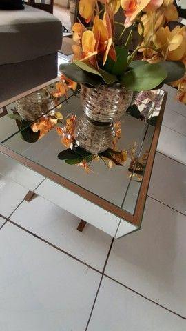 conjunto aparadores espelhados + espelho - Foto 5