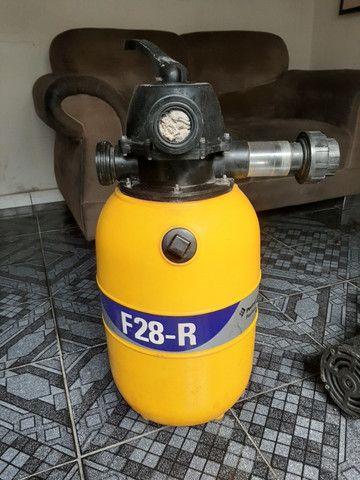 Filtro Pentair F28-R com Motobomba 1/4CV 127V/220V