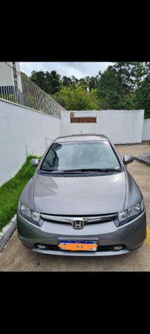 Honda Civic 2007 lxs 1.8 automático  - Foto 3