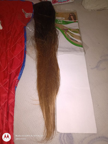 Vendo cabelo 100% orgânico Fiber 150g