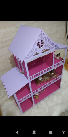 Casinha de boneca polly {60cm} chama no chat e faça a sua casinha e veja o preço  - Foto 2