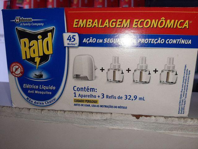 Inseticida raid elétricos 1 aparelho é 3 refil - Foto 2