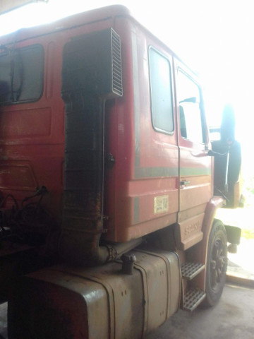 Scania 112h engatado carreta khronne 88 - Foto 6
