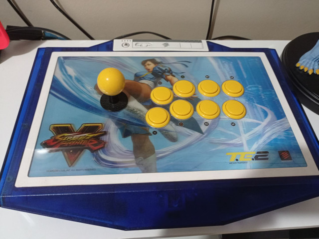 Controle Arcade Madcatz Chun Li Edition - Ps3/ps4/pc