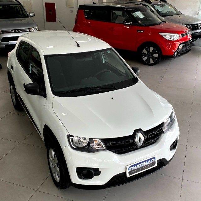 Kwid Zen 2018/2019 Completo, único dono, todo revisado na Renault, garantia até 12/2021 ! - Foto 17