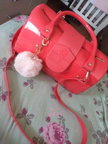 Bolsa Petit Jollie Rosa Pink semi nova