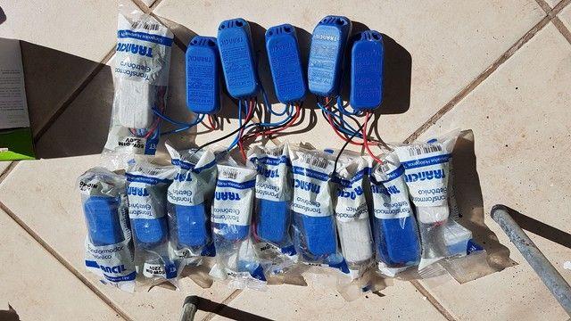 Transformador eletrônico Trancil 50W-Dim 220v