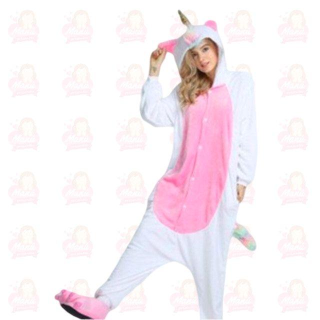Pijamas de pelúcia variados tamanhos e modelos - Foto 3