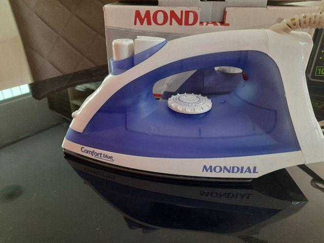 Ferro a vapor comfort blue 1 mês de garantia