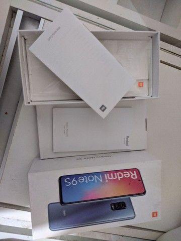 Xiaomi Note 9S com caixa e Manual semi novo apenas venda  - Foto 3