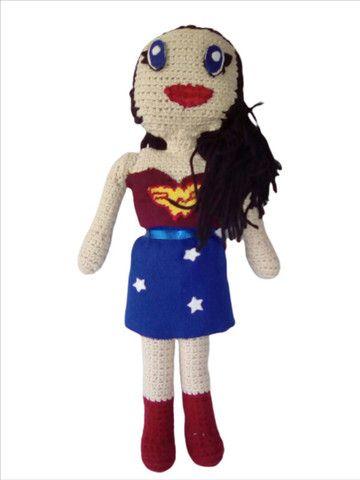 Boneca em Crochê Y.A.M Artesanato  - Foto 2