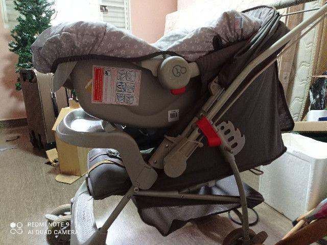 Berço Americano 3 em 1, banheira e trcador de fraldas, carinho de bebé , Bebe conforto - Foto 6