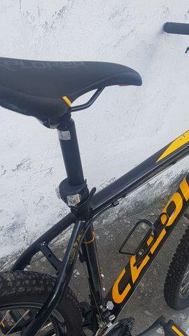 Bike Caloi - Explorer aro 29 - nova e conservada - motivo: viagem! Pagamento à vista - Foto 4