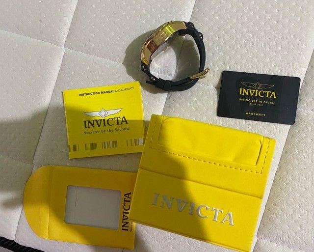 Relógio Invicta Pro Diver 6981 Ouro 18k - Foto 2