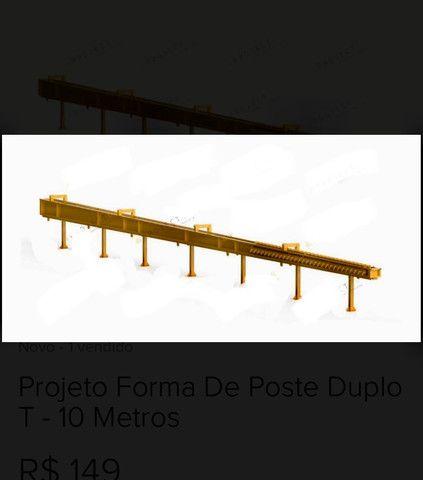 Formas postes bases caixa d?água