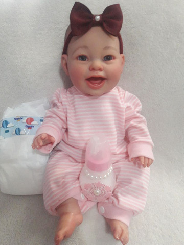 Mini bebê reborneada  - Foto 2