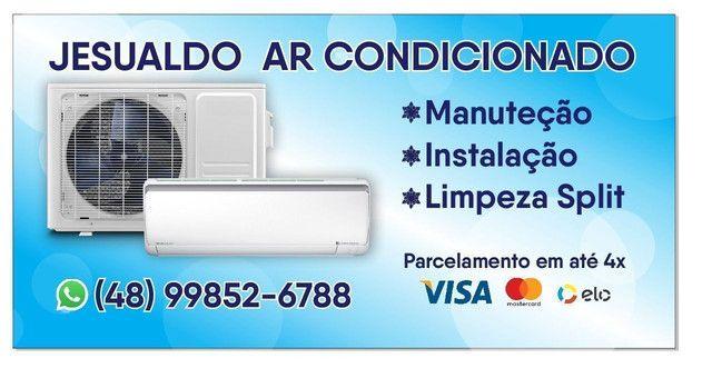Instalação e  manutenção ar condicionado Split