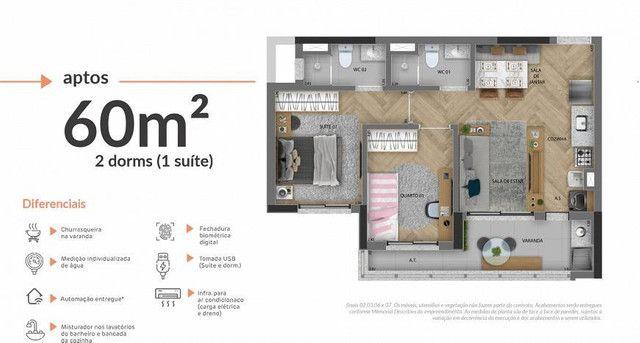 Apartamento com 2 Quartos à Venda, 60 m² - Osasco - Foto 11