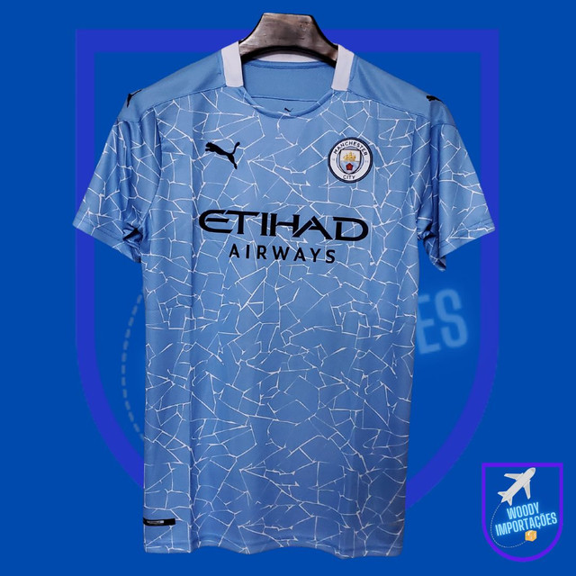 Camisa Manchester City 20/21