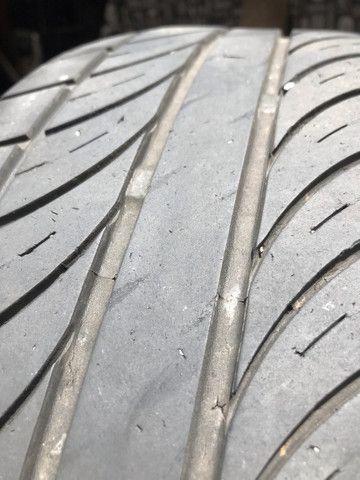 4 pneus usados 205/55/16 2 bridgstone 2 enzo - Foto 2
