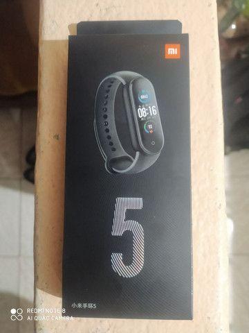 Pulseira Xiaomi Mi Band 5 Nova Lacrada na Caixa