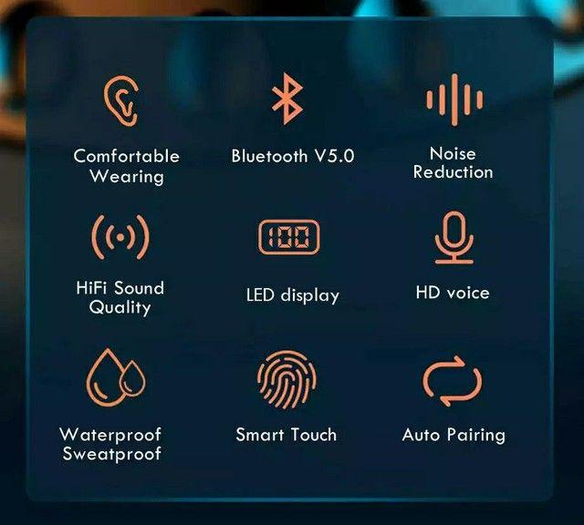 Fone Bluetooth F9 V5.1 Surround 5.1 - Foto 3