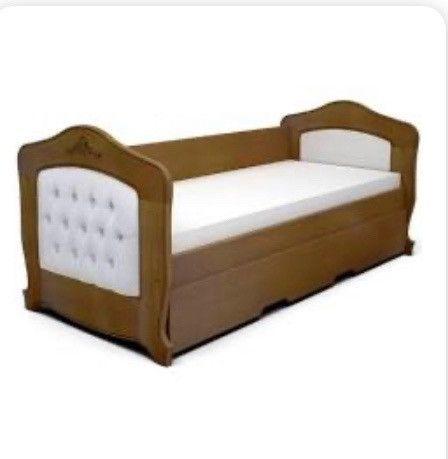 Cama solteiro com gaveta com cama auxiliar