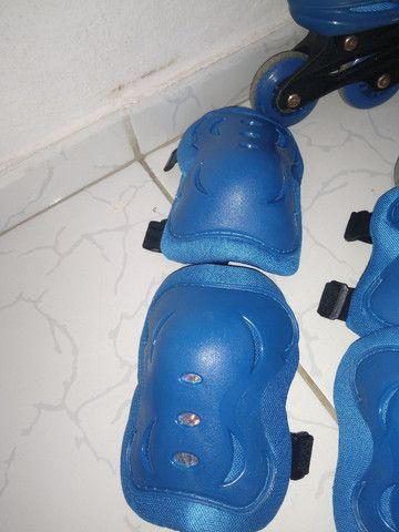 Vendo esse patins com o kit completo - Foto 3