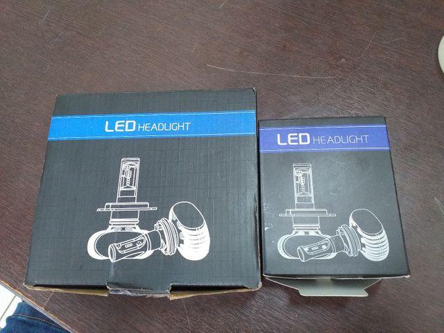 Lâmpadas Ultra Led H1 e H7 6000k - Foto 3