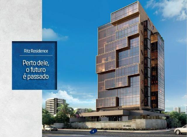 Apto Ritz Residence com 101 m² em Cruz das Almas, vizinho ao Hotel Ritz Suítes - Foto 6