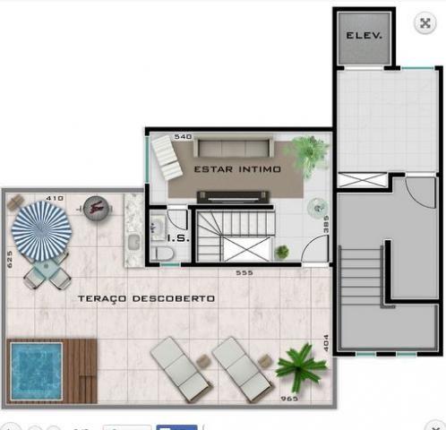 Cobertura à venda com 3 dormitórios em Buritis, Belo horizonte cod:2073 - Foto 3