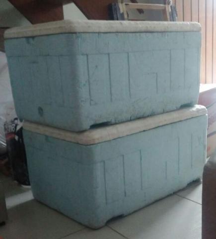 Caixa de isopor 70 L