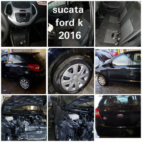 Sucata ford k 2016