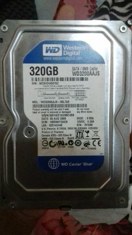 Vendo HD Sata 320GB
