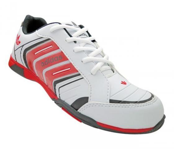 Tênis Masculino Adidas F700 Branco e Vermelho