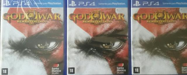 God of War 3 ps4 ( pronta entrega! )