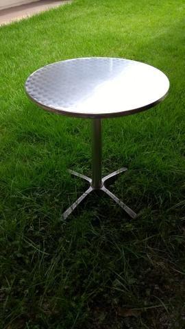 Conjunto de mesa de alumínio