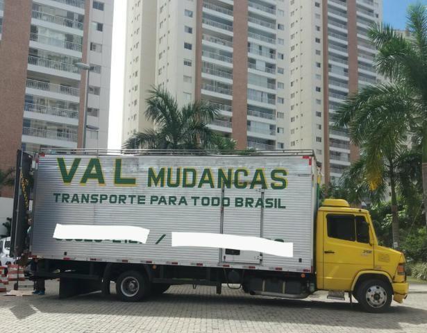 Val mudanças e transportes p/ todo brasil