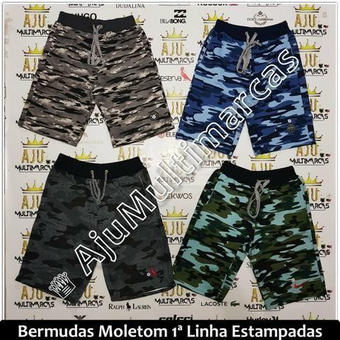 Bermuda Moletom Camuflada 1a Linha - Roupas e calçados - Aracaju ... fd2b4af5be