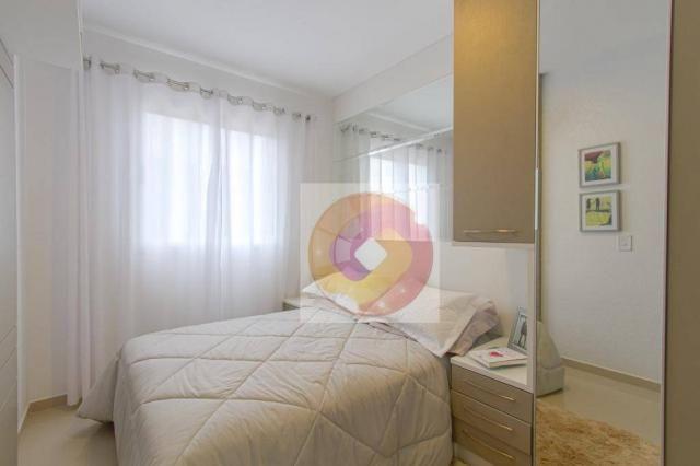 Apartamento com 2 dormitórios à venda, 52 m² por R$ 173.500 - Cidade Industrial - Curitiba - Foto 17