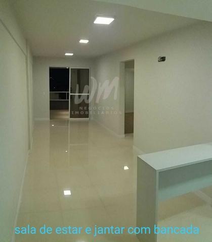 Locação apartamento semi-mobiliado com 2 vagas de garagem | Bairro Vila Operária - Foto 4
