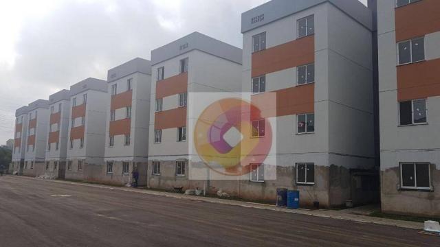 Apartamento com 2 dormitórios à venda, 52 m² por R$ 173.500 - Cidade Industrial - Curitiba - Foto 5