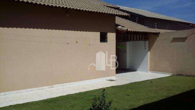 Casa com 3 dormitórios para alugar, 110 m² por R$ 1.600,00/mês - Jardim Holanda - Uberlând