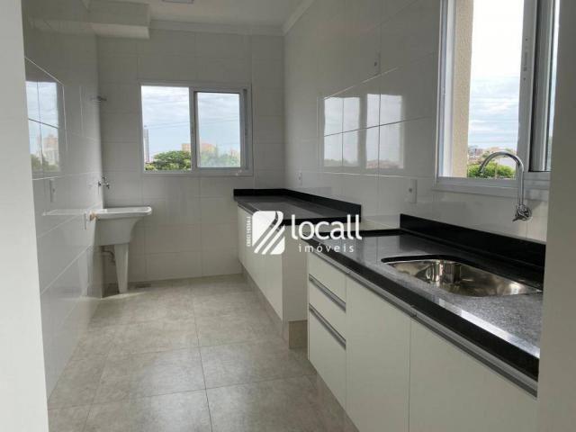 Apartamento com 1 dormitório para alugar, 55 m² por r$ 1.300/mês - vila são pedro - são jo - Foto 2