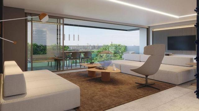 Apartamento com 3 dormitórios à venda, 122 m² por R$ 924.230,00 - Casa Forte - Recife/PE