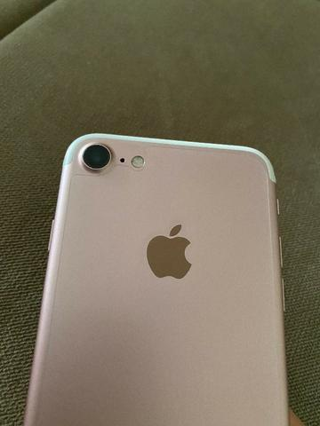 Iphone 7 128GB Rosé Impecável!!!! - Foto 6