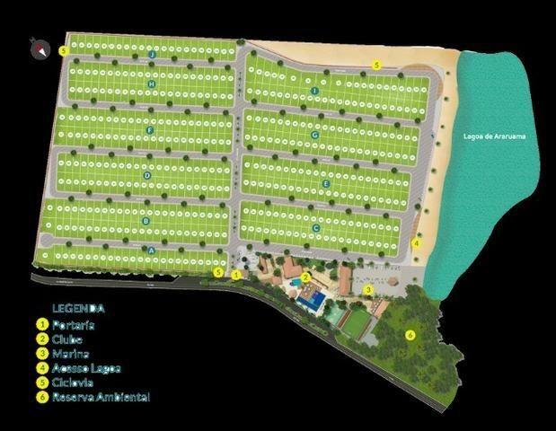 Blue lake lugar de ser feliz Arraial do cabo-condominio de lotes infraestrutura de clube - Foto 17