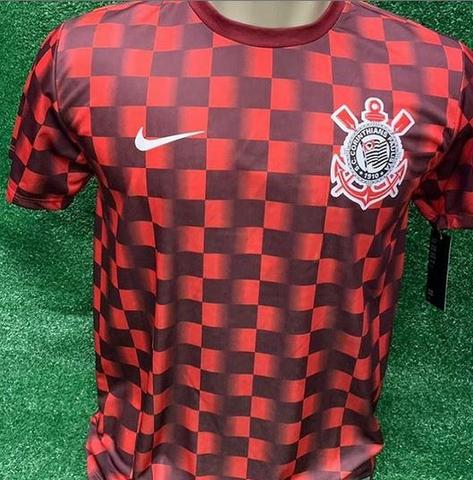 b53779599a Camisa do Corinthians de Treino Modelo 2019 Nike Entrego