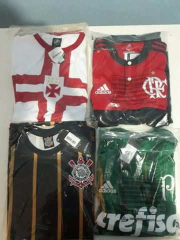 16bf9fec44 Camisas de times de futebol (leia o anúncio) - Esportes e ginástica ...