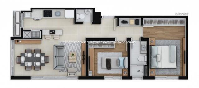 Apartamento à venda com 2 dormitórios em Centro, Esteio cod:50311